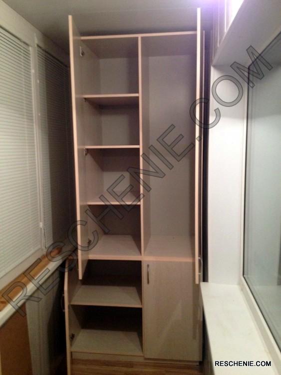 """Шкафы на лоджию """"решение""""."""